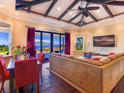 Photo for Private Villa with Gorgeous Ocean & Island Views, Pool, Waterfall & Spa