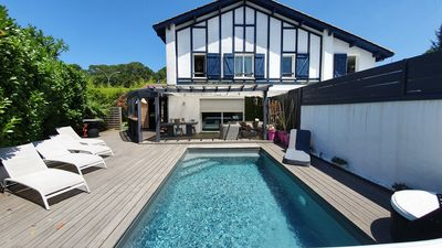 Photo for Charming house with pool in Biarritz