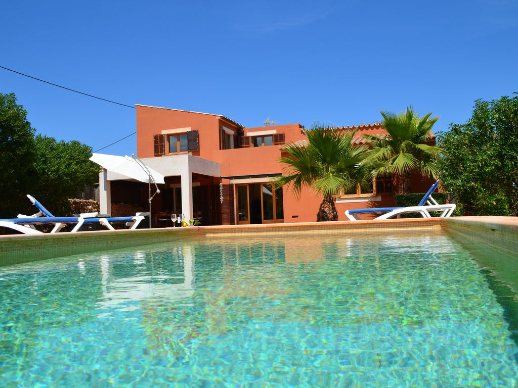 Finca In Cala Ratjada With Pool Perfect Location Directly Above The Cala Agulla Capdepera