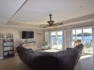 Photo for Newly Remodeled and Beautifully Decorated * Spacious Water Front 4 Bdrm & 4 Bath