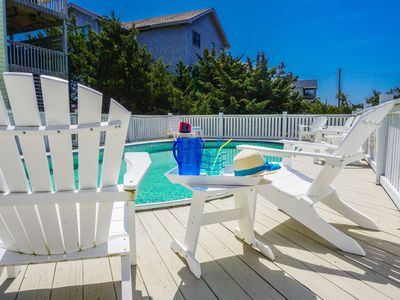 Photo for 6/16-6/20, 8/20-8/22 open!  5 bed, 3 1/2 semi oceanfront w/ pool and hot tub.