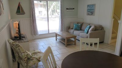 Photo for Heart of it All at Coligny Beach! 2 Bedroom Condo - Steps to Beach and Coligny