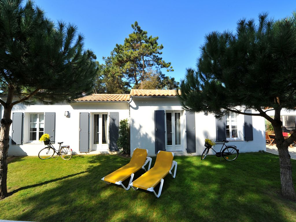 House villa ile de re rivedoux plage