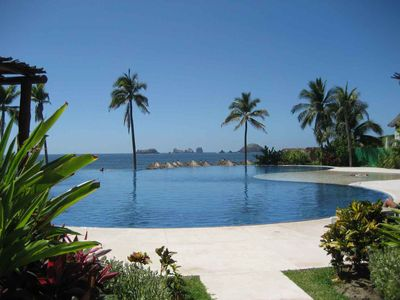 One of 3 pools by the beach.