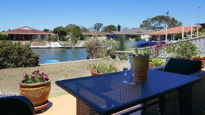 Photo for NEW ! Waterfront Haven, Absolute waterfront with private jetty and WiFi