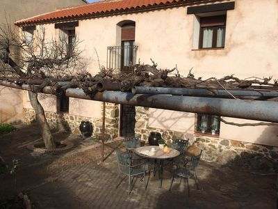 Photo for Charming holiday home with garden in the center of Spain