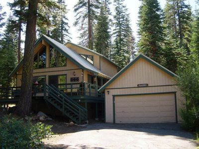 Photo for Your home away from home, nestled in the forest & close to everything!