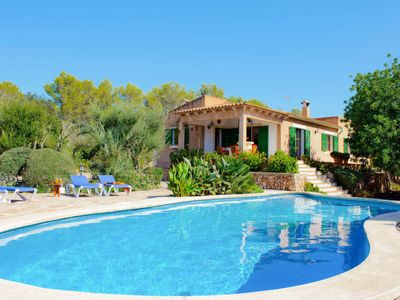 Photo for 3 bedroom Villa, sleeps 6 in Cas Concos with Pool, Air Con and WiFi