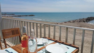 Photo for ON THE BEACH, 4 people, ideal for family holidays