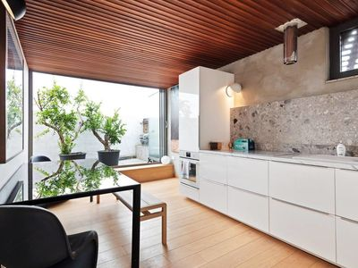 Photo for Luxury, Design 2 Bed Flat w/Garden in East London