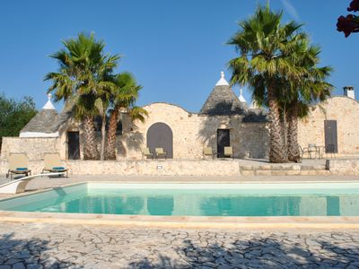 Photo for Tranquil family friendly Trullo With Own Pool And Close To The Adriatic
