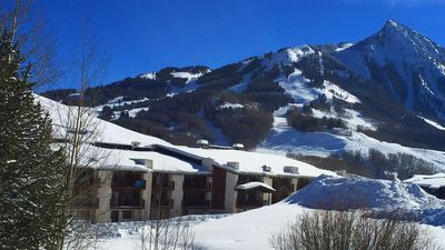 Photo for Best Views of Crested Butte! Walk to Lifts! Huge Pool & Private Balcony
