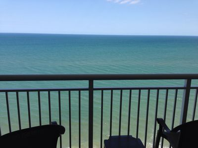 Oceanfront view from the balcony