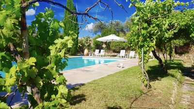 Photo for Alghero, a prestigious independent ancient home with pool for 8-9 people