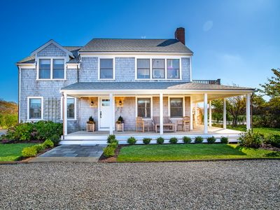 Photo for NEW LISTING! 4 Bdrm 3.5 bath in Tom Nevers w/ outdoor heated pool & ocean views!