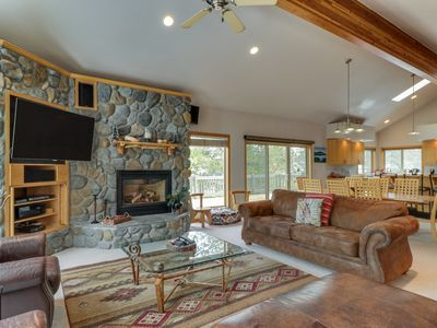 Photo for Great centrally-located lodge-style home w/ SHARC passes & a private hot tub!