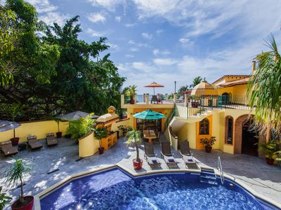 Photo for Casa La Villita - Stunning Mexican Villa, Ocean Views, Steps to beach, 4 Staff