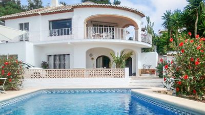 Photo for *Summer Sale* Traditional Villa for 6, 8x4 pool, Mountain view, Close to beaches