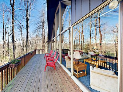 Photo for 3BR w/ 2 Decks & Sunroom - Heated Pool Access & Amenities
