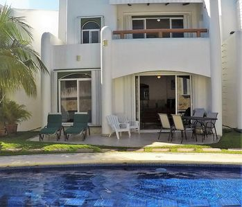 Photo for Luxury Playacar Villa | Great Location 5 mins Walk to Beach, 5th Ave| Large Pool