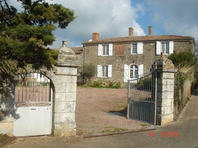 Photo for Grand Logis house of character 8 persons beaches countryside garden