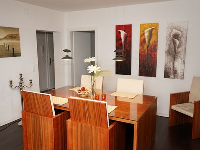 Photo for Luxurious apartment right on the shore of Lake Ossiach with a large terrace - Wi-Fi