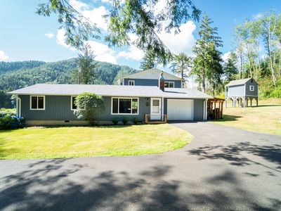 Photo for Experience This Scenic 5 Bedroom Moments From Bay City & Tillamook!