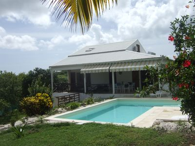 Photo for Villa with swimming pool 1 km to the beach for 8 people