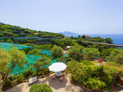 Photo for Villa Imma with Private Swimming Pool, Sea View and Parking