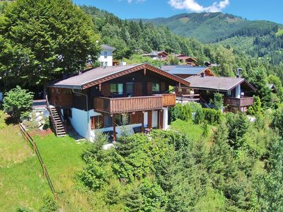 Photo for Beautiful wooden chalet with breathtaking view