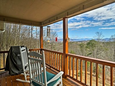 Photo for Hayesville Home w/Mtn Views, Deck Grill & Fire Pit