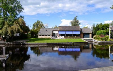 Villa10 on the water surrounded by beautiful nature.