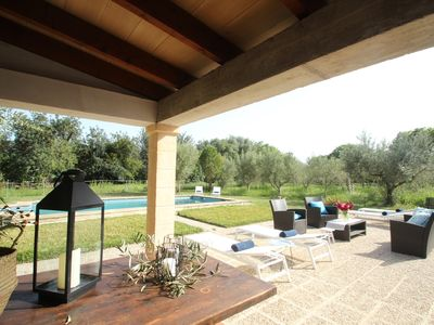Photo for Pollensa La Font Villa & pool WALKING DISTANCE to town