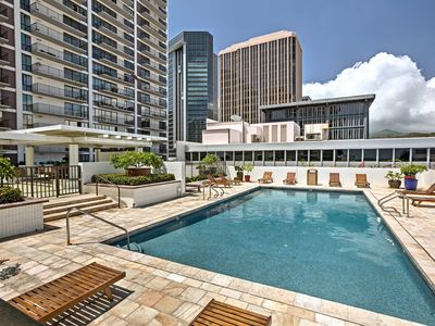 Photo for NEW! Honolulu Condo - Private Balcony, Ocean Views