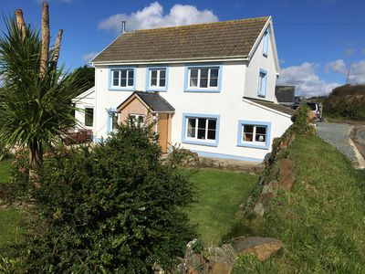 Photo for Recently refurbished with Sea views and log burner! Sleeps up to 8