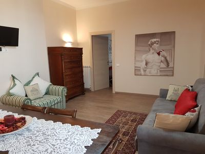 Photo for Warm and welcoming apartment in the Vatican