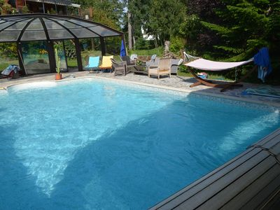 Photo for HAVEN OF PEACE IN FAMILY or BETWEEN FRIENDS, big villa with DISCOVERABLE SWIMMING POOL