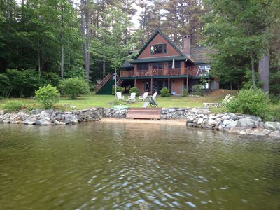 Photo for Adirondack Lake House Ideal for Fall Foliage w/Lake Access & Amazing Views