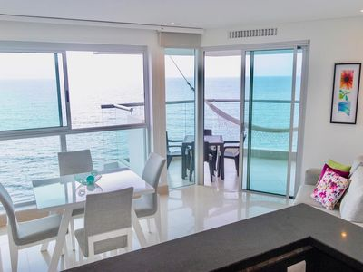 Photo for Beautiful apartment in front of the beach