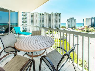 Photo for St. Lucia 704-2BR in SilverShells☀Oct 18 to 20 $609 Total!☀Gulf Views! Updated!