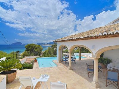 Photo for MOST LUXURIOUS VILLA IN MORAIRA LOCATED 70 MTS FAR FROM THE BEACH ¨EL PORTET¨