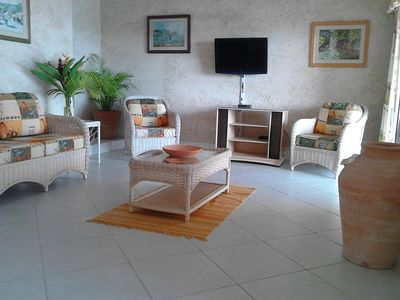 Photo for Luxury 3 bedrm near beach villa- ocean views, dip pool/villa car for small fee.