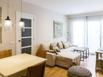 Photo for Luxury apartment for 4 in the center of Sitges