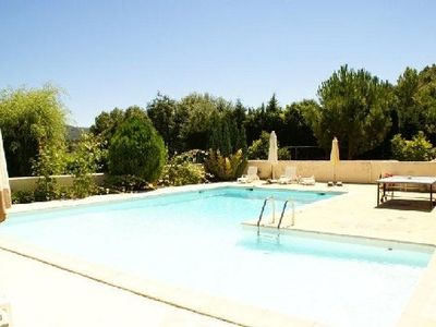 Photo for Appart 7pers, swimming pool, garden in VAISON LA ROMAINE in VAUCLUSE
