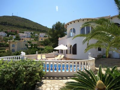 Photo for Charming Villa in Moraira Valencia with Swimming Pool