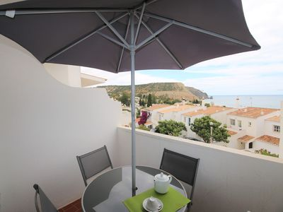 Photo for 2 bedroom apartment with sea view less than 2 minutes walk from the beach