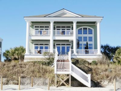 Photo for Inlet Point South's Finest, Luxurious Ocean Front Home is Ocean Point