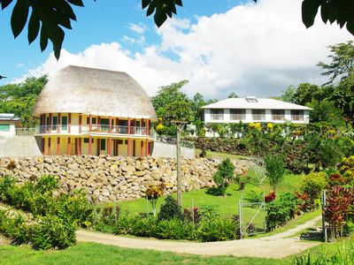 Photo for Highland Hideaway above Apia nestled in your own private little valley