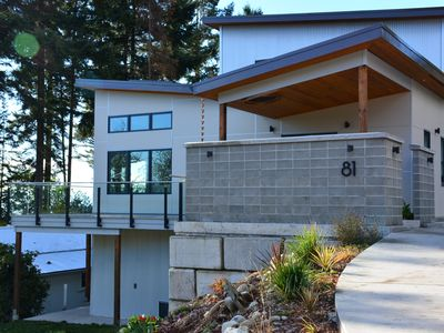 Photo for Waterfront Mid Century Modern, Brand New 4300 sq. ft. Getaway. Perfect Location