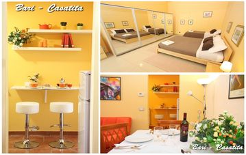 Bari-Casatita central apartment + wifi + safe parking - CASATITA